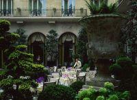 パリジョルジュサンクの中庭
