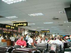 空港のイス