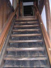 おりょうが登った階段